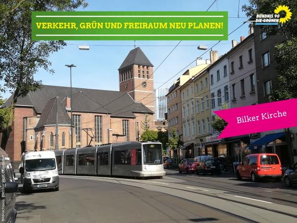 Anfrage Verkehrssituation Bilker Kirche