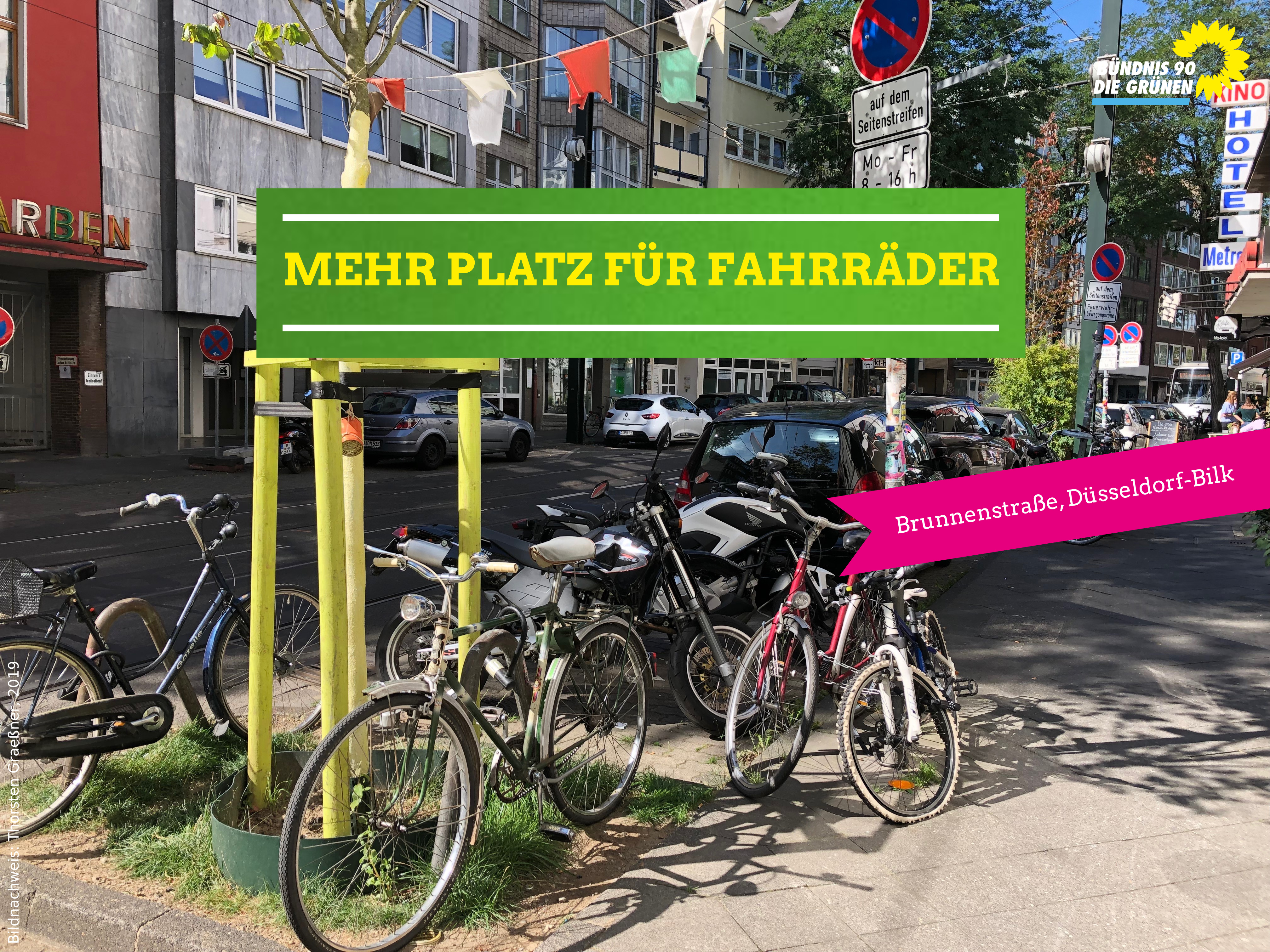 Brunnenstraße Fahrradabstellanlegen
