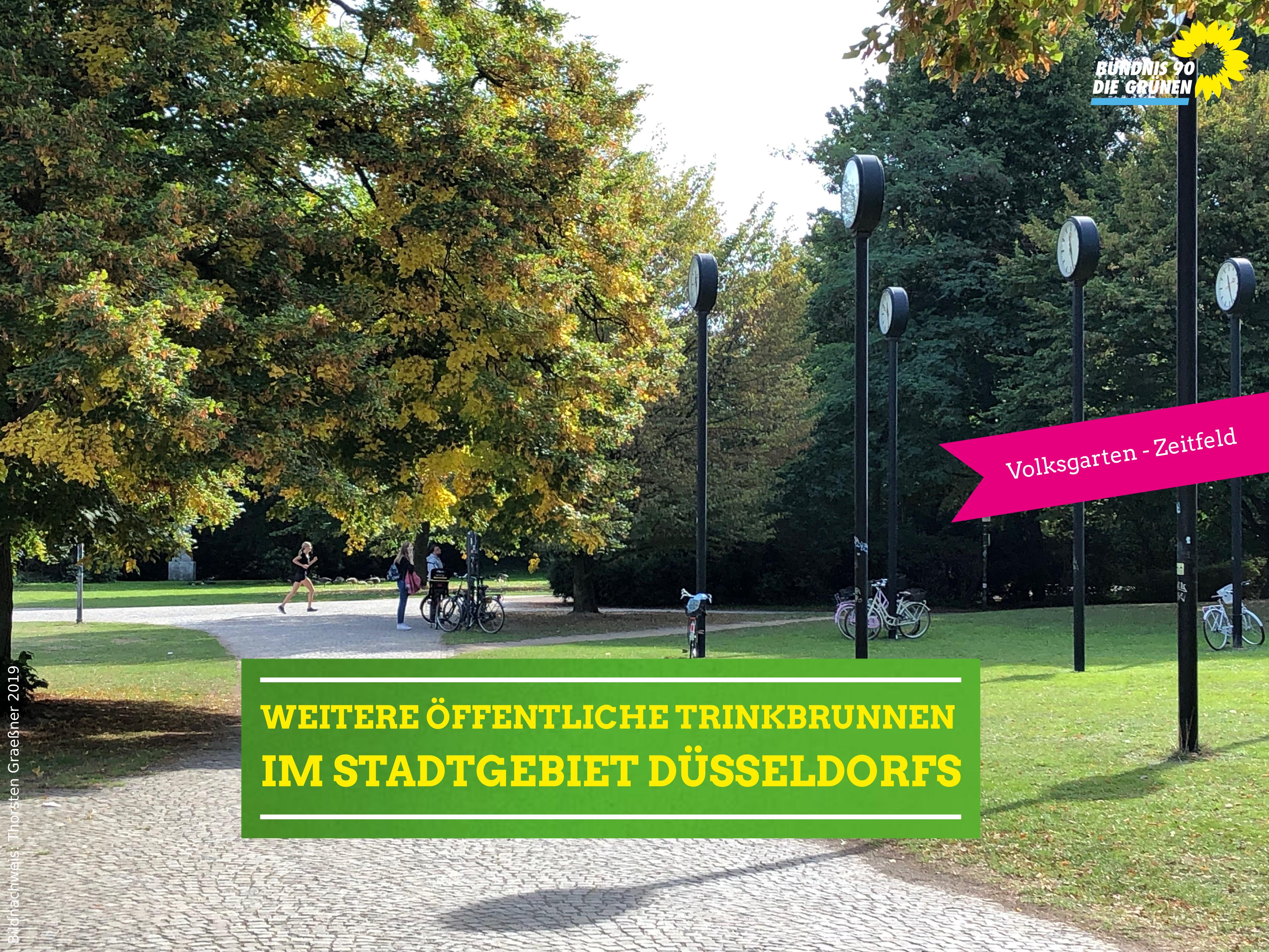 Antrag: öffentlicher Trinkbrunnen am Zeitfeld/Volksgarten